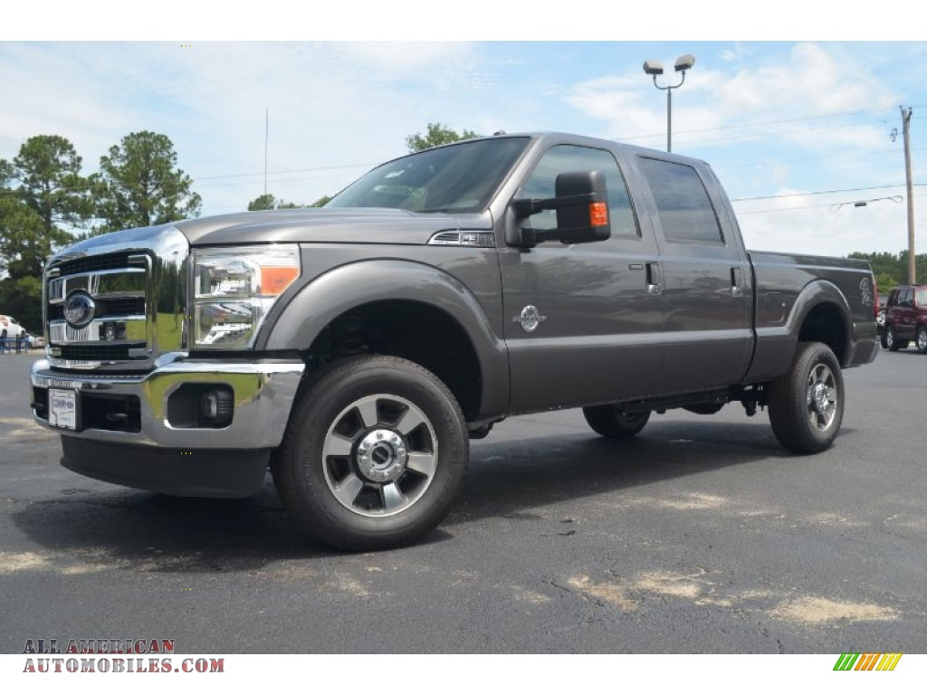 2012 ford f350 super duty lariat crew cab 4x4 in sterling grey metallic a95110 all american. Black Bedroom Furniture Sets. Home Design Ideas