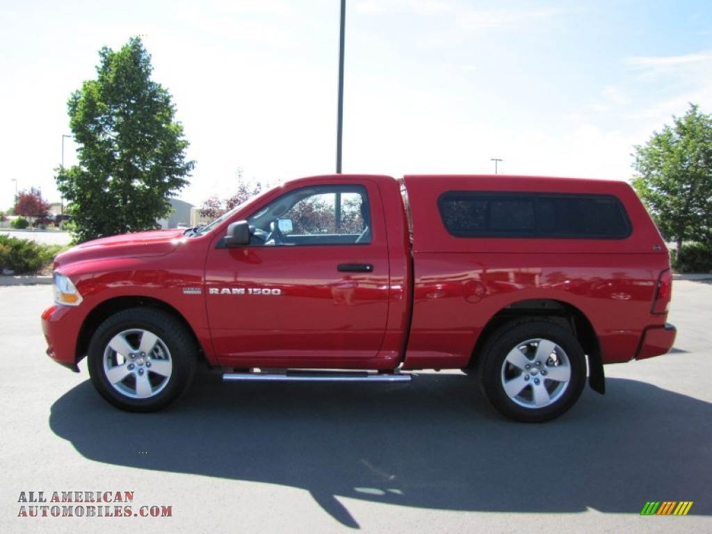 Pine Belt Jeep >> 2012 Dodge Ram 1500 Express Regular Cab 4x4 in Flame Red photo #4 - 118056 | All American ...