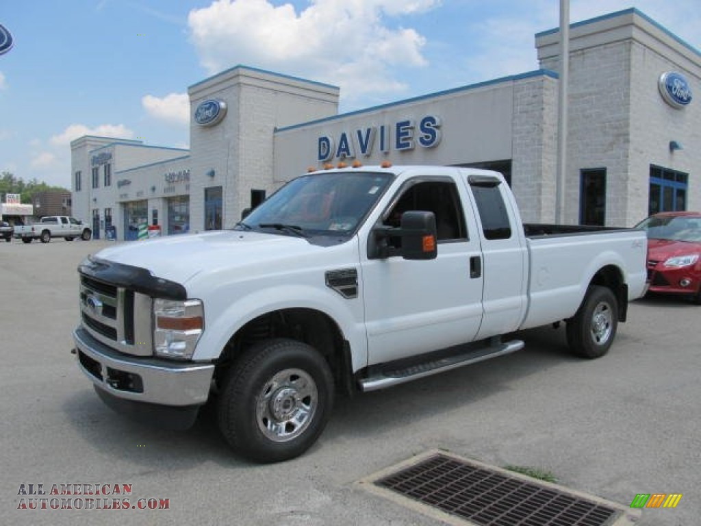 2009 Ford F250 Super Duty Xlt Supercab 4x4 In Oxford White