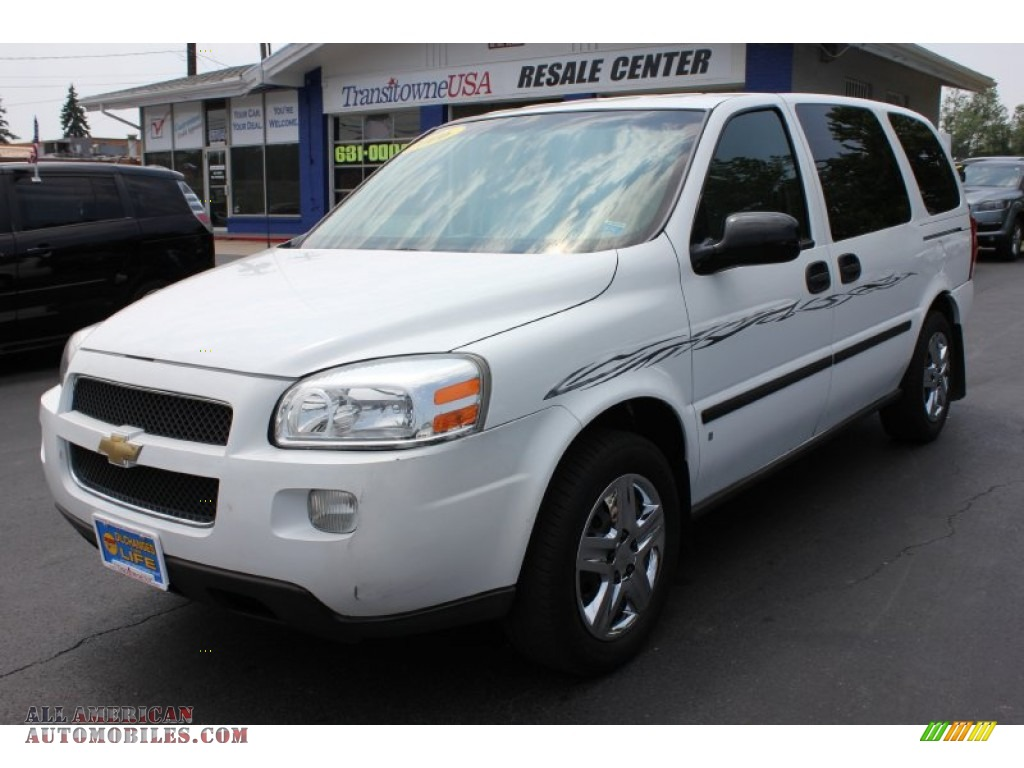 2006 chevrolet uplander ls in summit white 215463 all american automobiles buy american. Black Bedroom Furniture Sets. Home Design Ideas