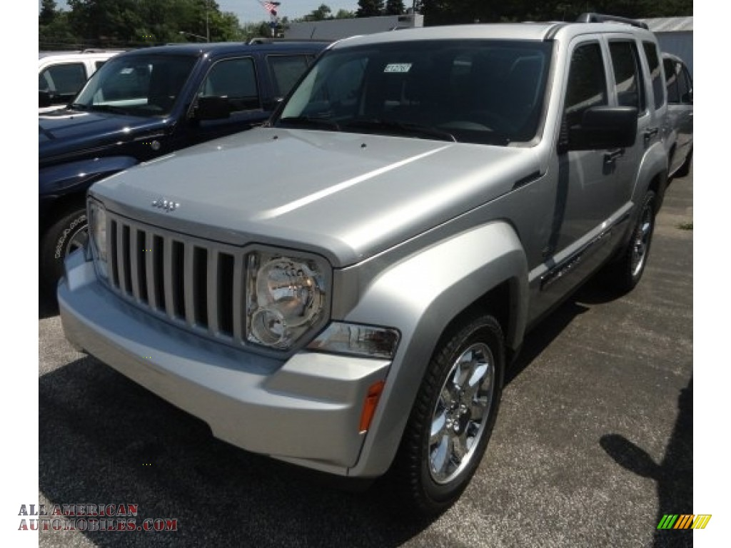 2012 jeep liberty sport 4x4 in bright silver metallic 204246 all american automobiles buy. Black Bedroom Furniture Sets. Home Design Ideas