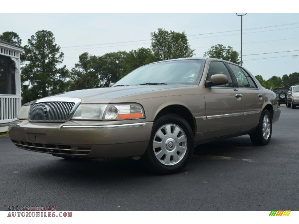 2003 mercury grand marquis ls in arizona beige metallic. Black Bedroom Furniture Sets. Home Design Ideas