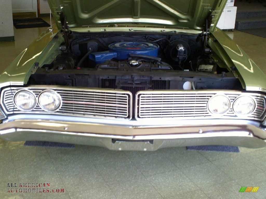 1968 Ford Galaxie 500 Fastback In Lime Gold Photo 13