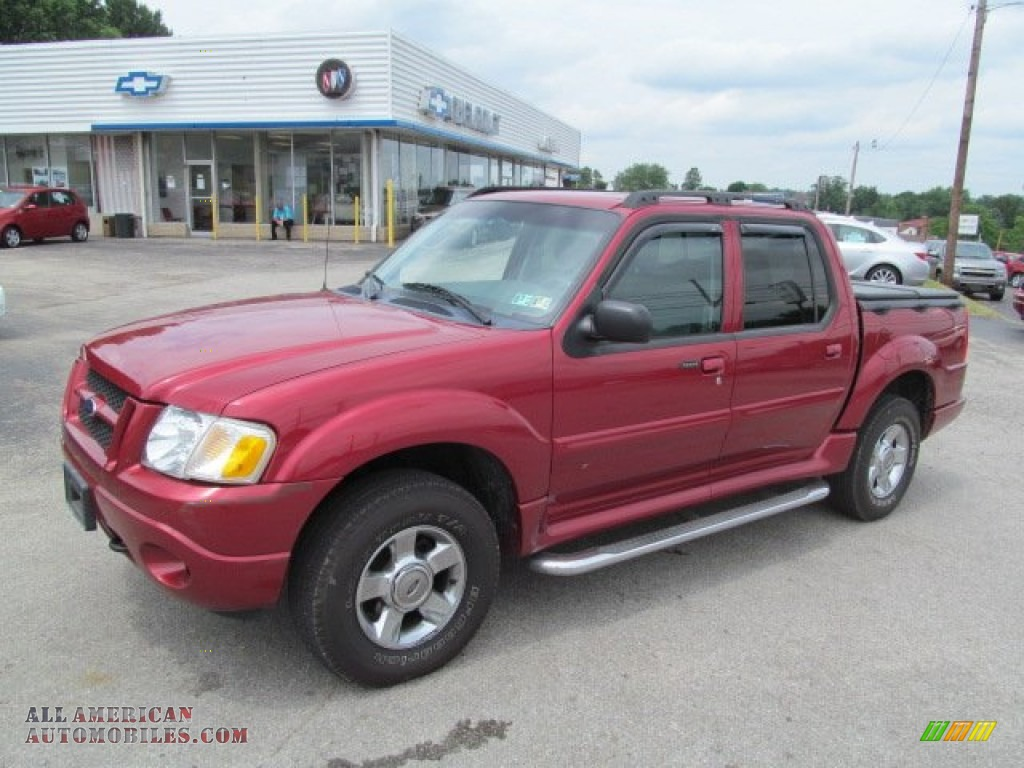 2004 ford explorer sport trac adrenalin 4x4 in red fire metallic. Cars Review. Best American Auto & Cars Review