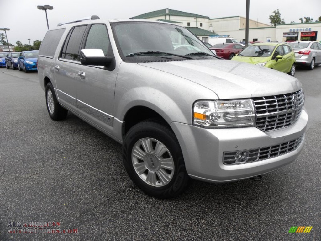 2012 lincoln navigator l 4x2 in ingot silver metallic photo 2 l00496 all american. Black Bedroom Furniture Sets. Home Design Ideas