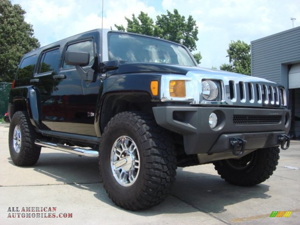 2007 hummer h3 x in black 218028 all american automobiles buy american cars for sale in. Black Bedroom Furniture Sets. Home Design Ideas