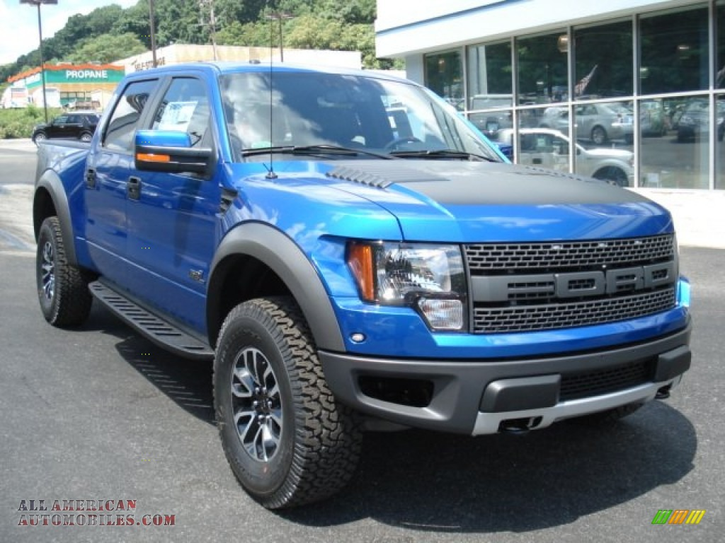 2012 ford f150 svt raptor supercrew 4x4 in blue flame metallic photo 2 c17832 all american. Black Bedroom Furniture Sets. Home Design Ideas