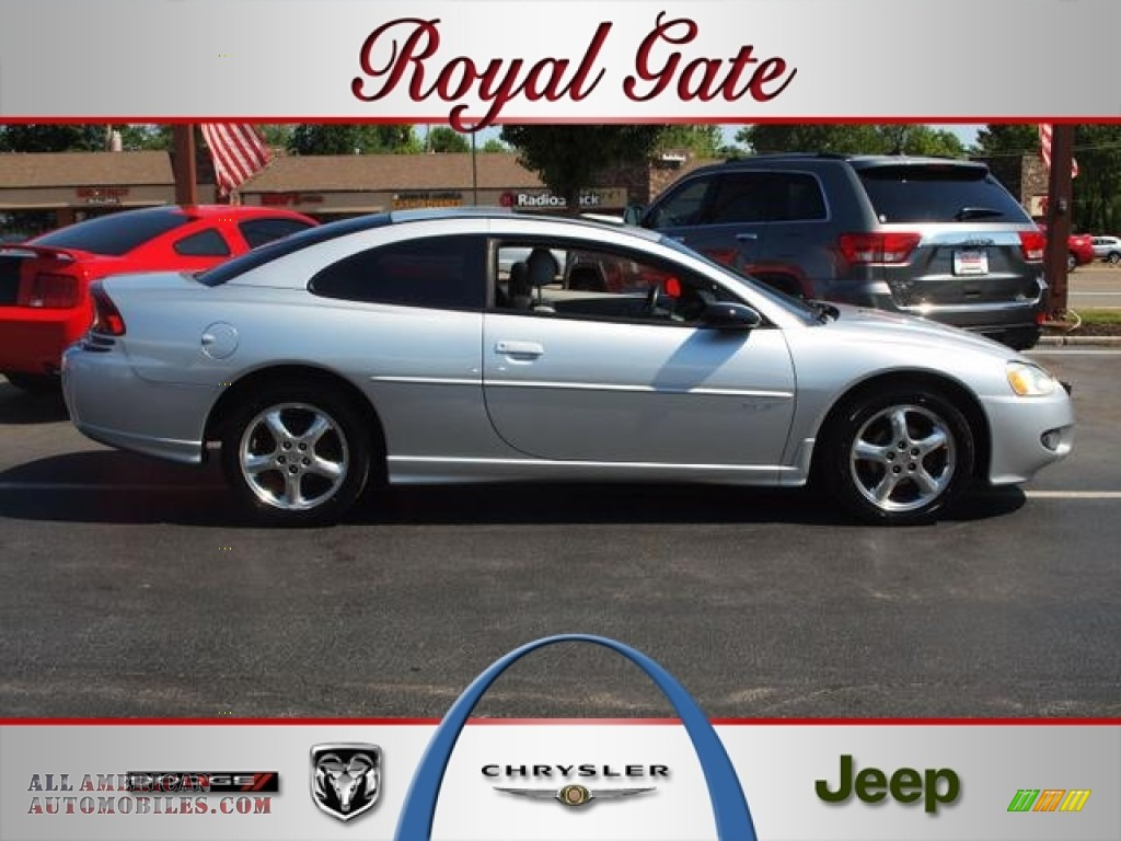 2002 dodge stratus r t coupe in bright silver metallic for Royal chrysler motors inc