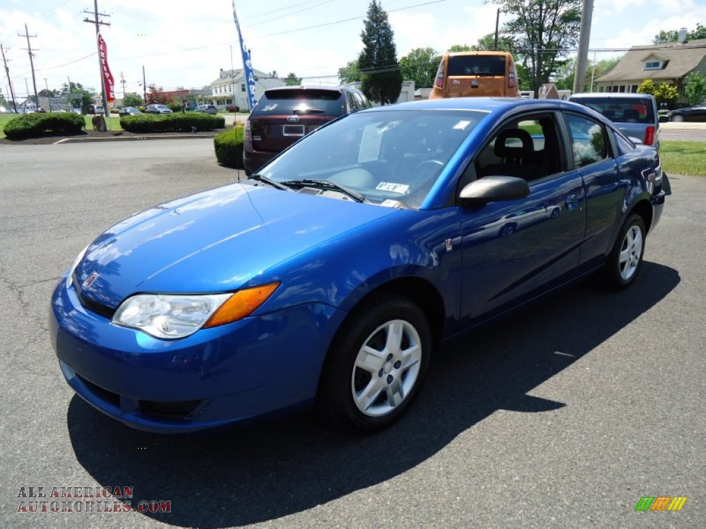 2006 Saturn ION 2 Quad Coupe in Laser Blue photo #2 ...  Saturn Ion 2006 Blue