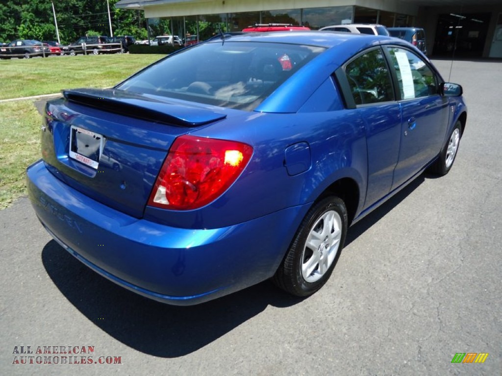 2006 Saturn ION 2 Quad Coupe in Laser Blue photo #5 ...  Saturn Ion 2006 Blue