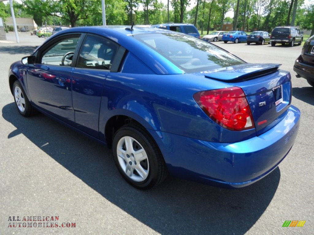 2006 Saturn ION 2 Quad Coupe in Laser Blue photo #7 ...  Saturn Ion 2006 Blue