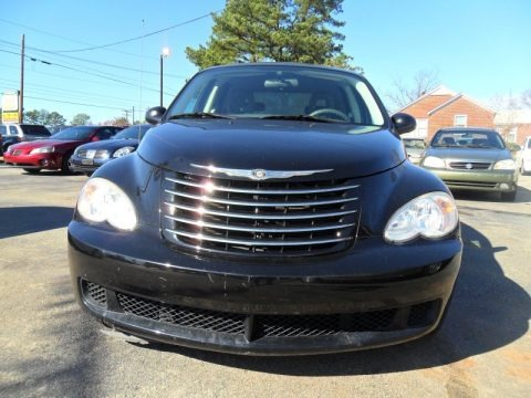 Brilliant Black Crystal Pearl 2006 Chrysler PT Cruiser Limited