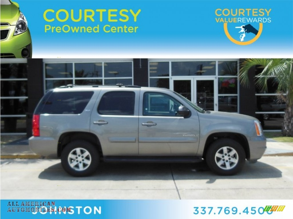 2008 Gmc Yukon Sle In Steel Gray Metallic Photo 16 150501 All American Automobiles Buy