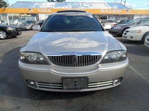 Light Parchment Gold Metallic 2003 Lincoln LS V8
