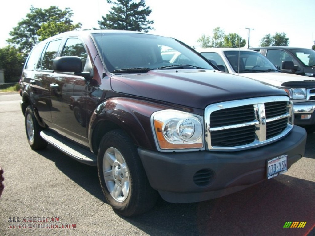 2004 dodge durango st 4x4 in deep molten red pearl for Steve white motors inc