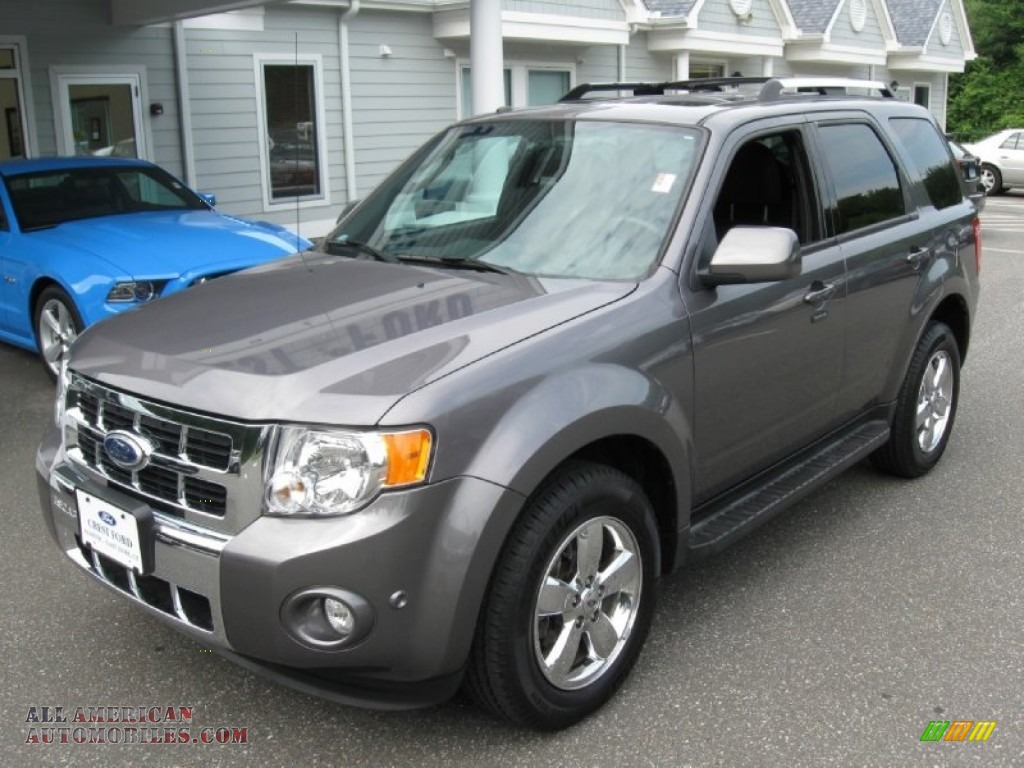 2010 Ford Escape Limited V6 4wd In Sterling Grey Metallic