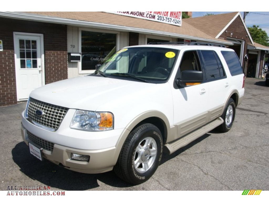 2005 ford expedition eddie bauer 4x4 in oxford white photo. Black Bedroom Furniture Sets. Home Design Ideas