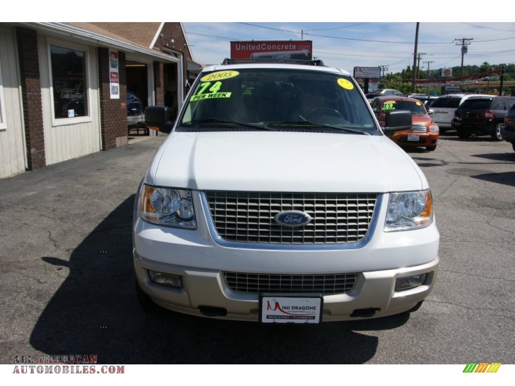 2005 ford expedition eddie bauer 4x4 in oxford white photo 2 a26352 all american. Black Bedroom Furniture Sets. Home Design Ideas