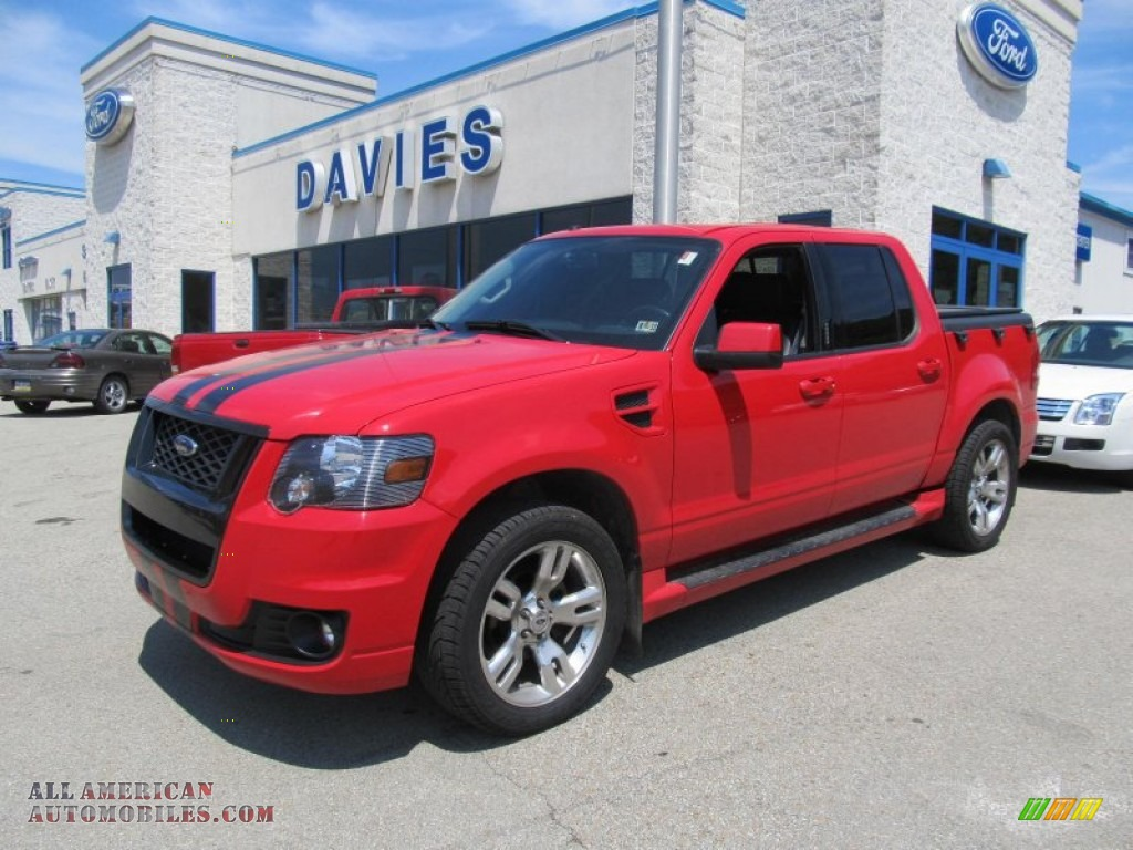 2008 Ford Explorer Sport Trac Adrenalin 4x4 in Colorado Red - B08173 | All American Automobiles ...