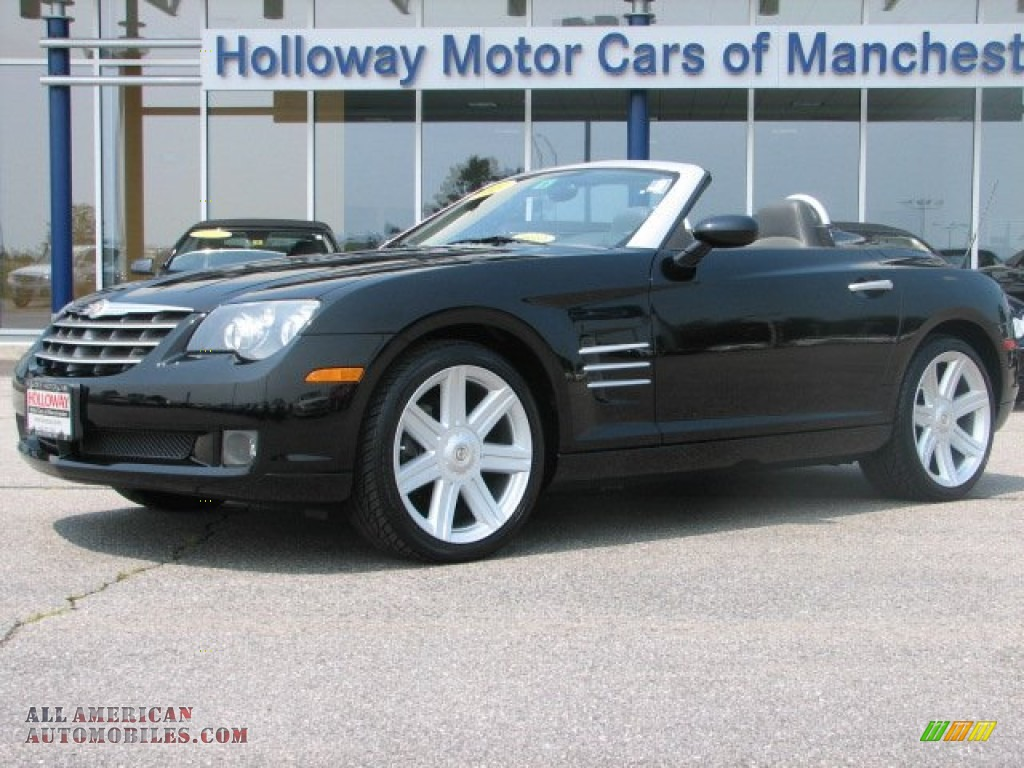 2005 Chrysler Crossfire Limited Roadster In Black 043603