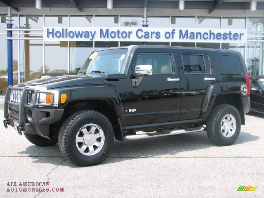 2006 Hummer H3 In Black 157801 All American