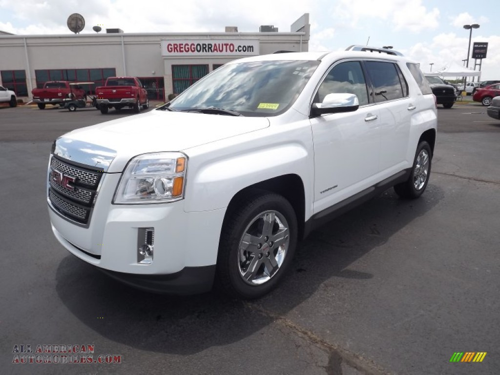2012 gmc terrain slt in olympic white 284658 all american automobiles buy american cars. Black Bedroom Furniture Sets. Home Design Ideas
