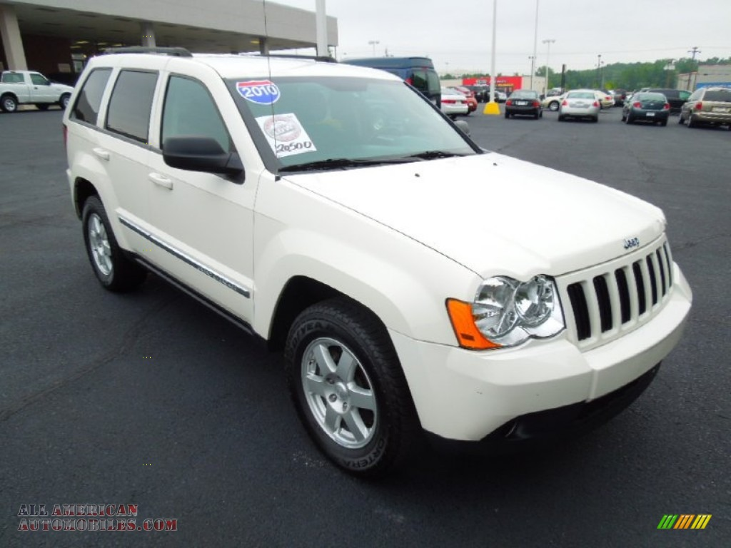 2010 jeep grand cherokee laredo in stone white 155182. Black Bedroom Furniture Sets. Home Design Ideas