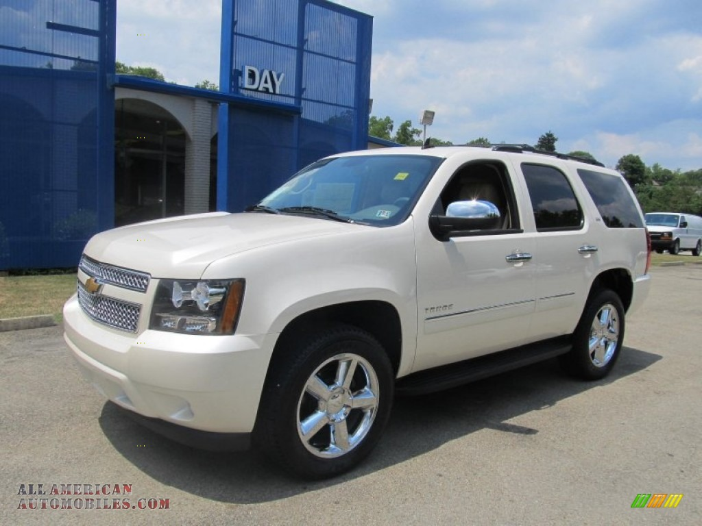 2013 chevrolet tahoe ltz 4x4 in white diamond tricoat 113158 all american automobiles buy. Black Bedroom Furniture Sets. Home Design Ideas
