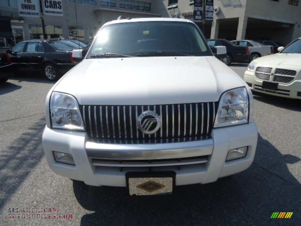 2010 mercury mountaineer v6 awd in white suede photo 3 j01411 all american automobiles. Black Bedroom Furniture Sets. Home Design Ideas