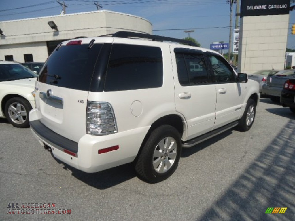 2010 mercury mountaineer v6 awd in white suede photo 6 j01411 all american automobiles. Black Bedroom Furniture Sets. Home Design Ideas