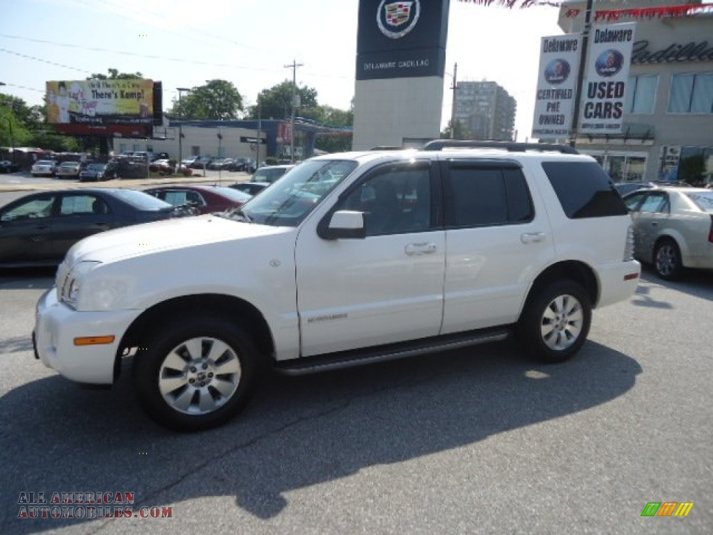 2010 mercury mountaineer v6 awd in white suede photo 9 j01411 all american automobiles. Black Bedroom Furniture Sets. Home Design Ideas