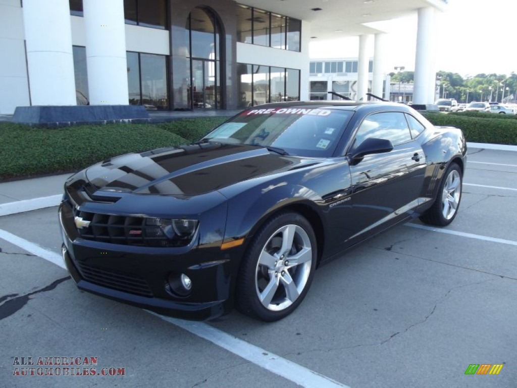 2010 chevrolet camaro ss rs coupe in black 182111 all american. Cars Review. Best American Auto & Cars Review