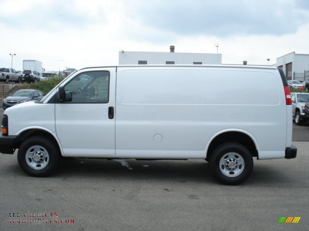 2012 chevrolet express 2500 cargo van in summit white photo 16 192491 all american. Black Bedroom Furniture Sets. Home Design Ideas