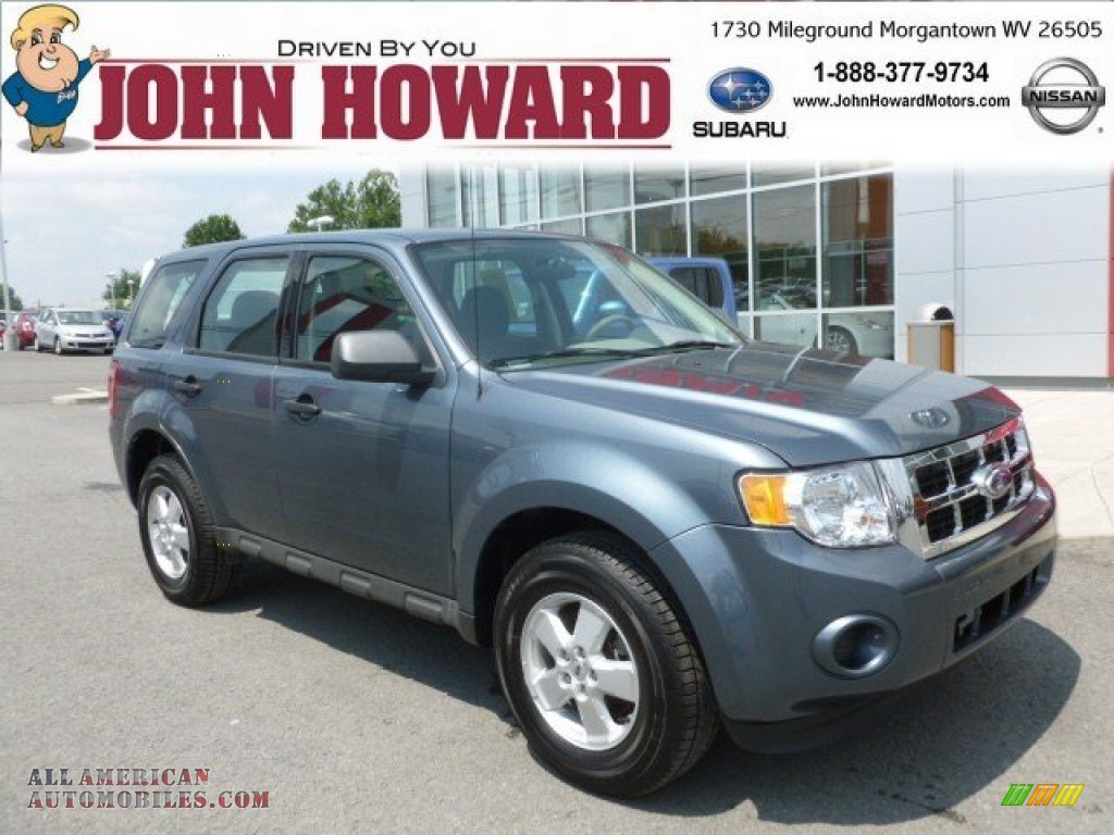 2010 ford escape xls 4wd in steel blue metallic b94346 for Mileground motors in morgantown wv