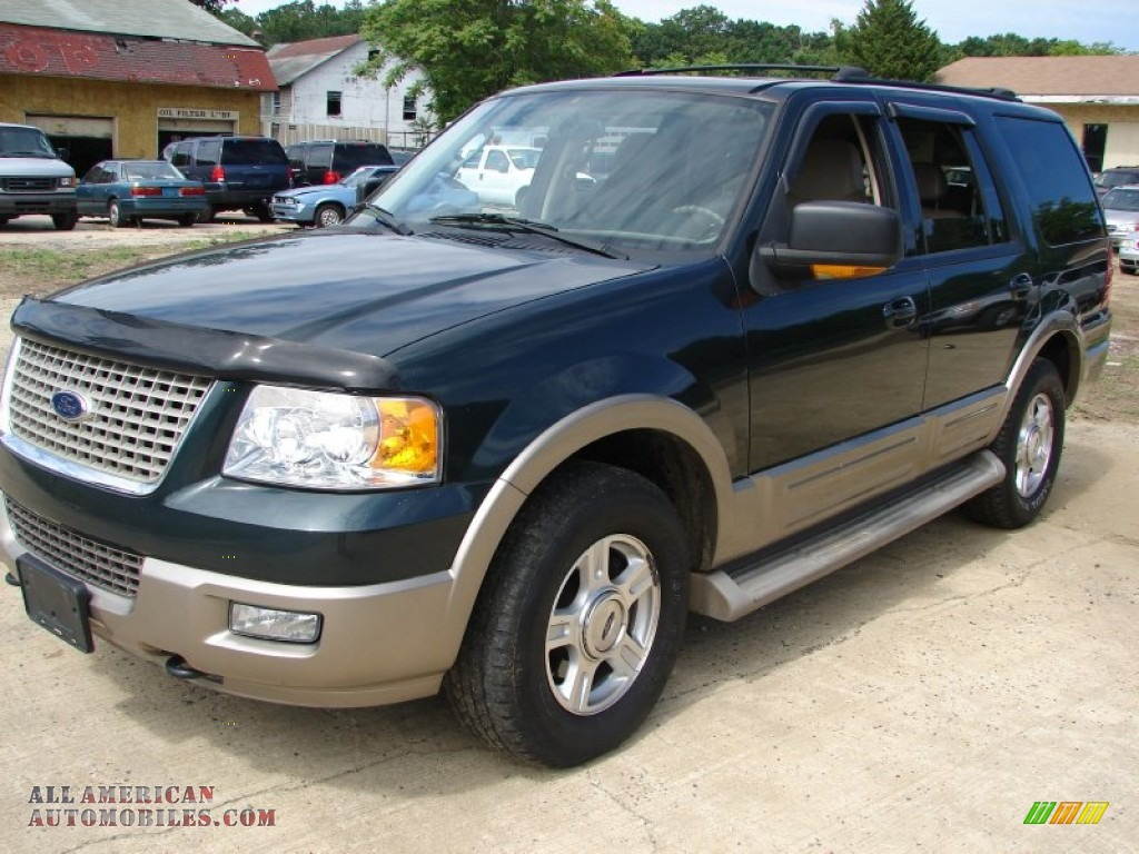 2004 ford expedition eddie bauer 4x4 in aspen green metallic a89451 all american automobiles. Black Bedroom Furniture Sets. Home Design Ideas