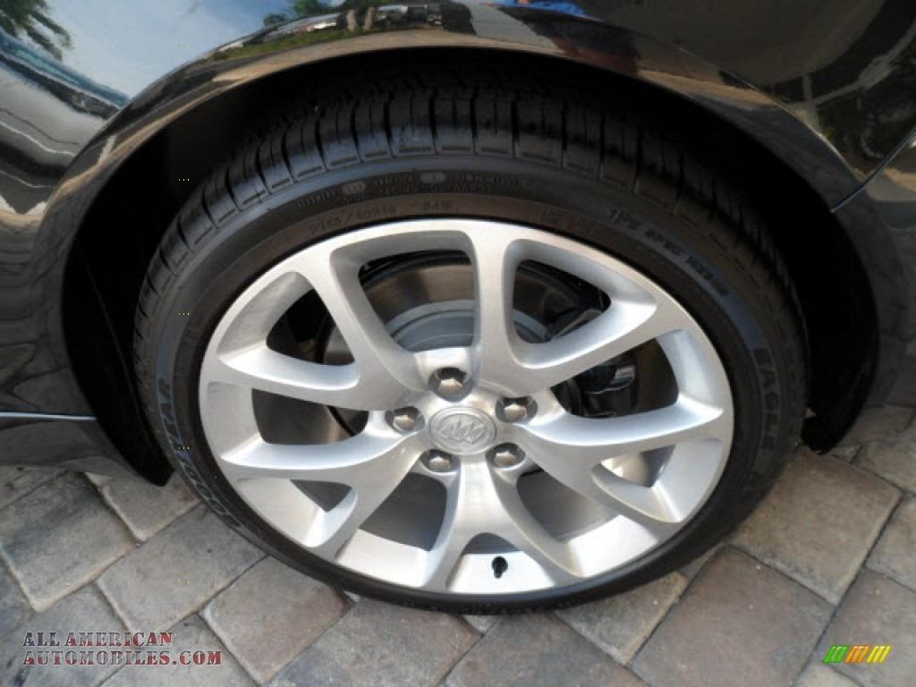2012 Buick Regal Gs In Carbon Black Metallic Photo 10