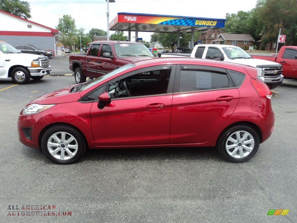 2011 Ford Fiesta Se Hatchback In Red Candy Metallic