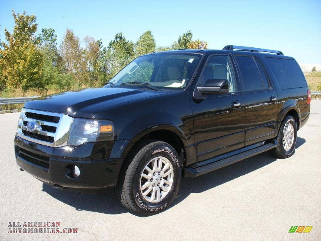 2012 ford expedition el limited 4x4 in black f06399 all american automobiles buy american. Black Bedroom Furniture Sets. Home Design Ideas