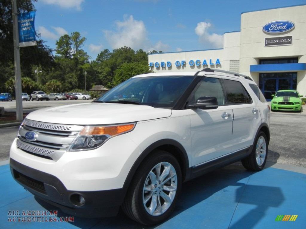 2012 ford explorer xlt in white platinum tri coat photo 26 a32955 all american automobiles. Black Bedroom Furniture Sets. Home Design Ideas