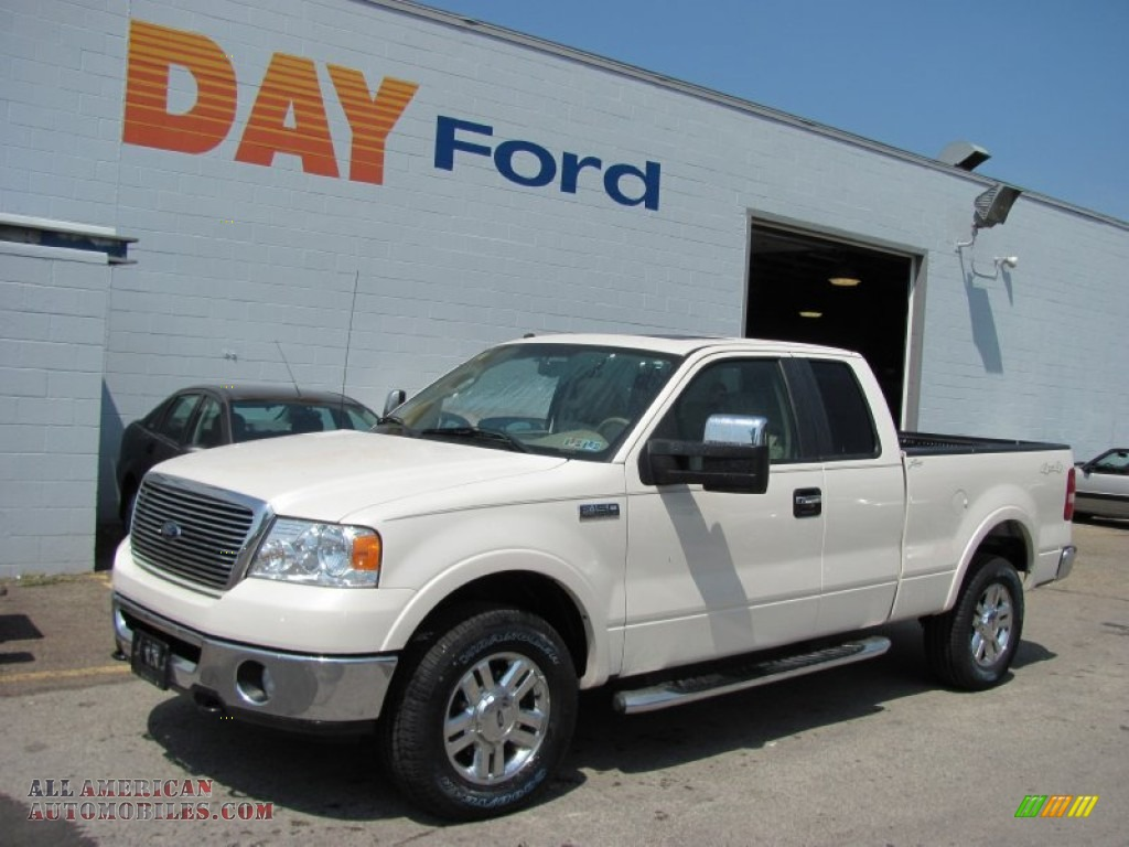 Day Ford Monroeville >> 2008 Ford F150 Lariat SuperCab 4x4 in White Sand Tri-Coat - B44613   All American Automobiles ...