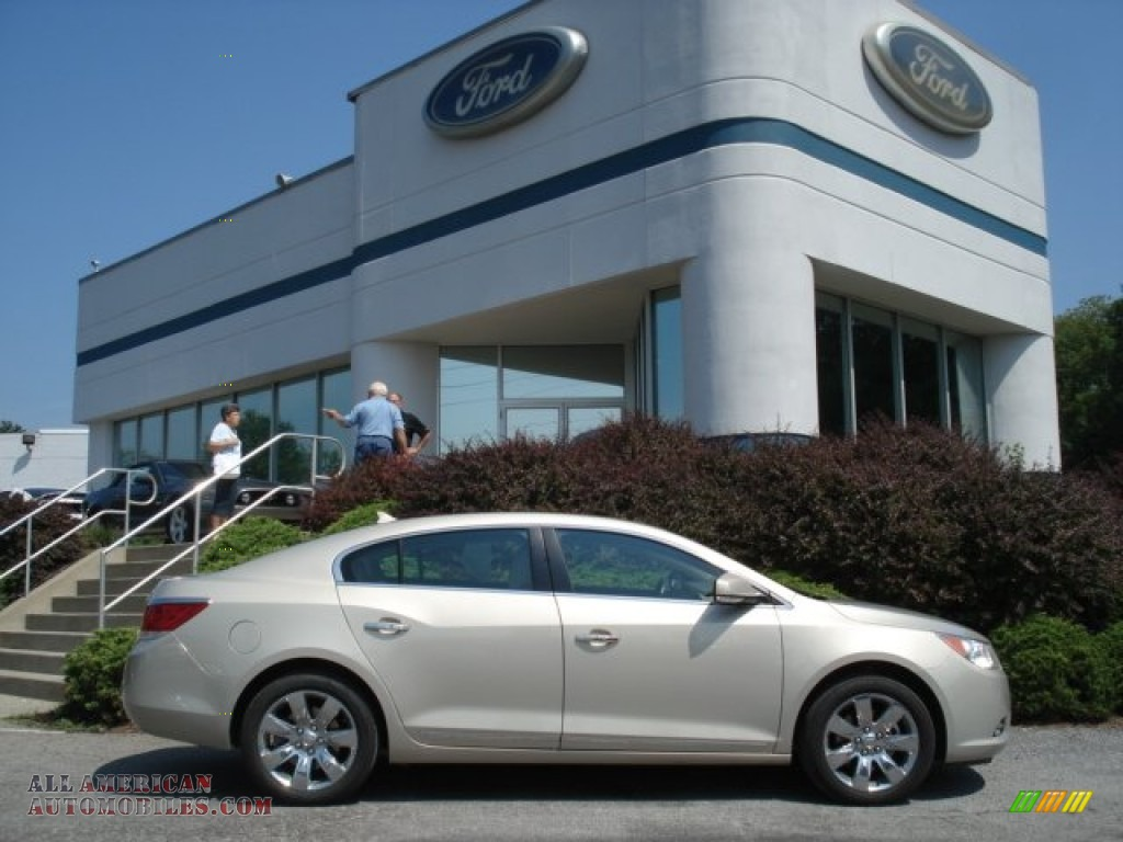 2011 Buick LaCrosse CXL AWD in Gold Mist Metallic - 222862 | All ...