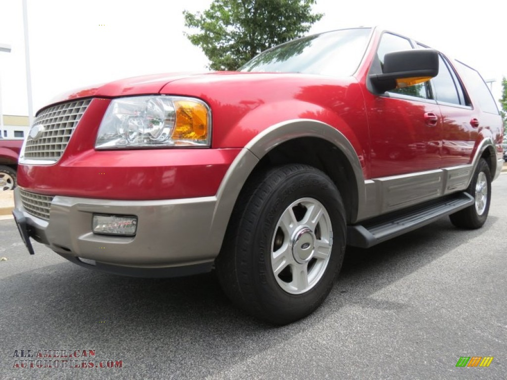 2003 ford expedition eddie bauer in laser red tinted. Black Bedroom Furniture Sets. Home Design Ideas