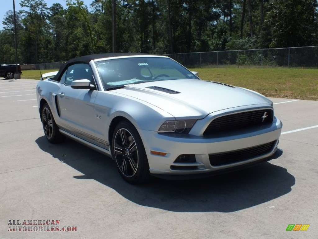 2013 Ford Mustang GT/CS California Special Convertible in Ingot Silver