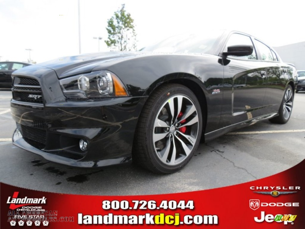 2012 dodge charger srt8 in pitch black 270311 all american automobiles buy american cars. Black Bedroom Furniture Sets. Home Design Ideas
