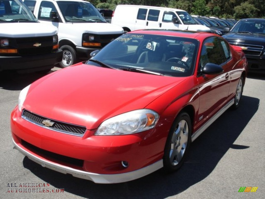 2006 chevrolet monte carlo ss in victory red 275247 all american automobiles buy american. Black Bedroom Furniture Sets. Home Design Ideas