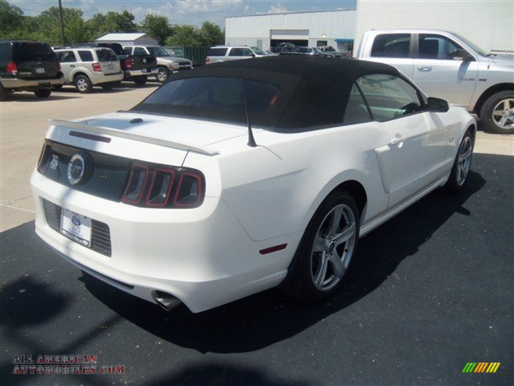2013 ford mustang gt premium convertible in performance white photo 5. Black Bedroom Furniture Sets. Home Design Ideas