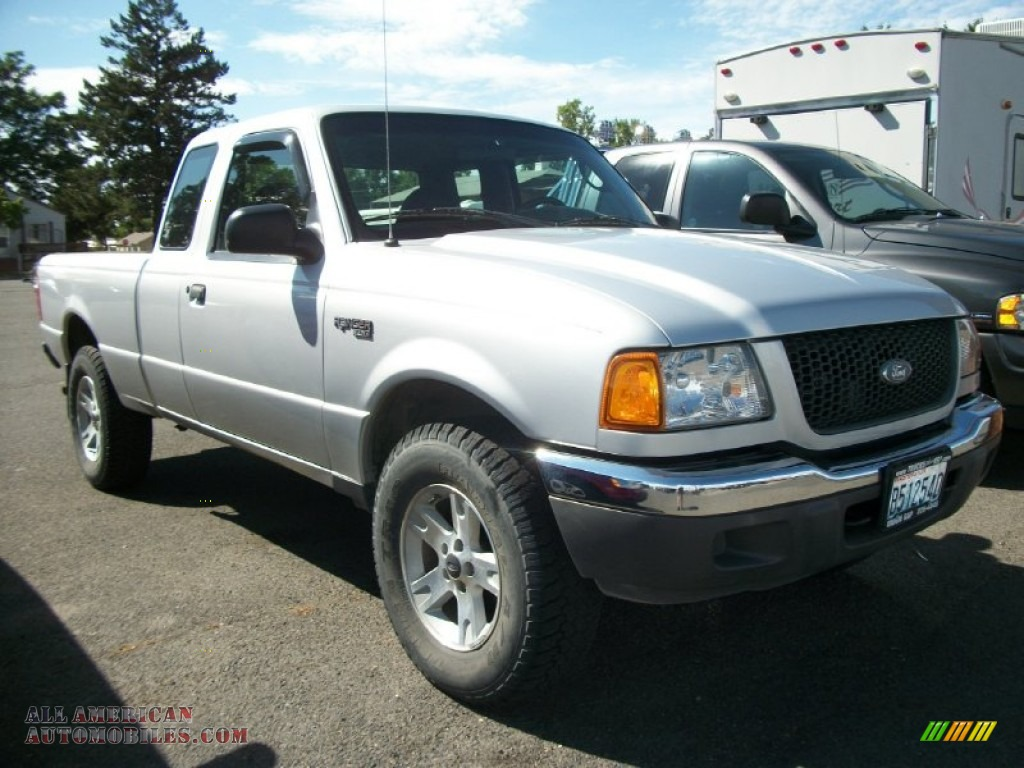 2003 ford ranger xlt supercab 4x4 in silver frost metallic. Black Bedroom Furniture Sets. Home Design Ideas