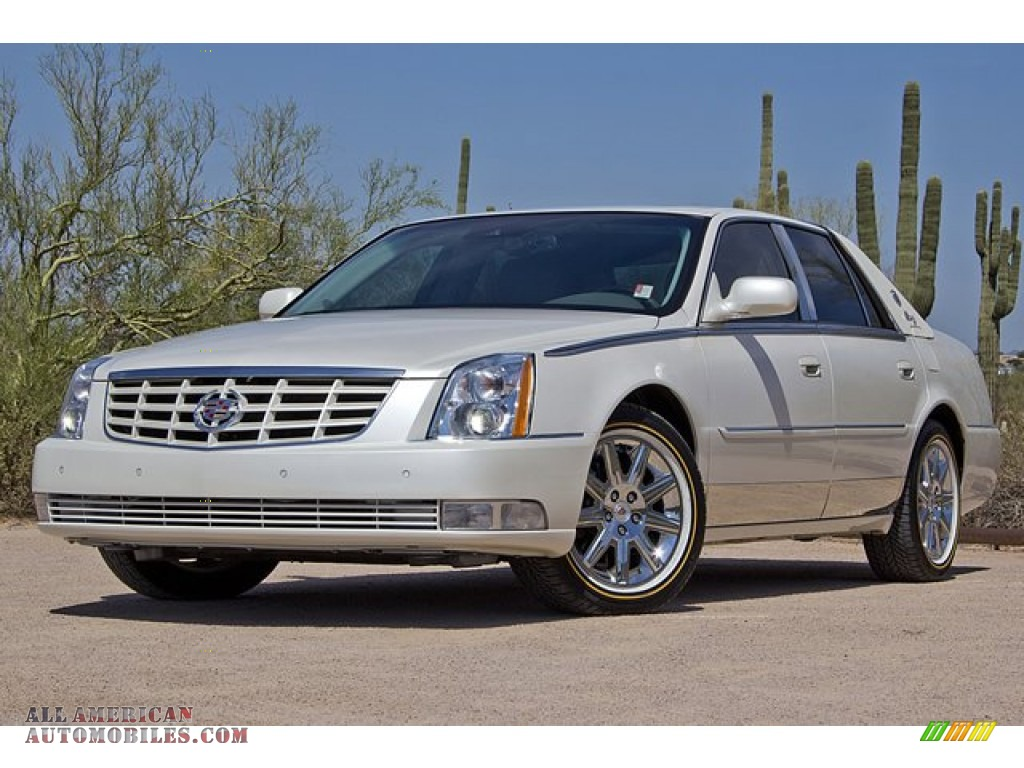 2010 Cadillac Dts Biarritz Edition In White Diamond Tri