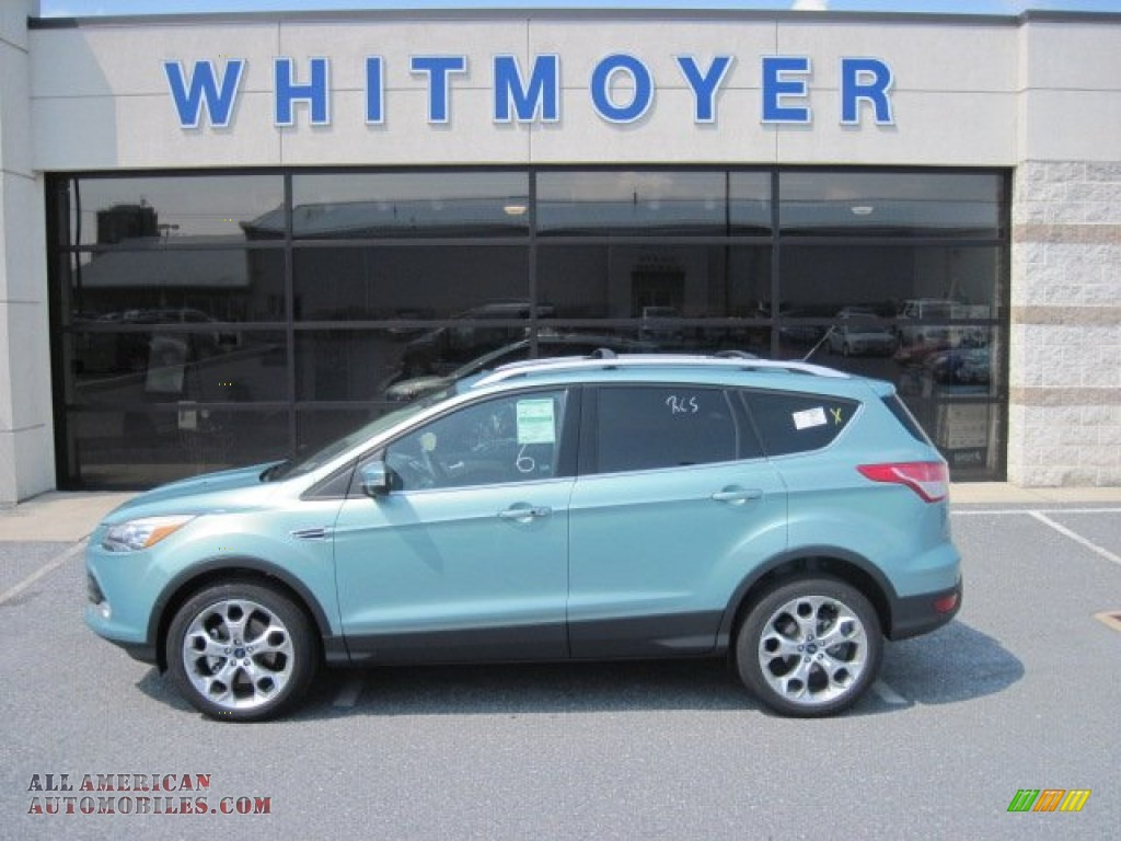 2013 Ford Escape Titanium 2 0l Ecoboost 4wd In Frosted