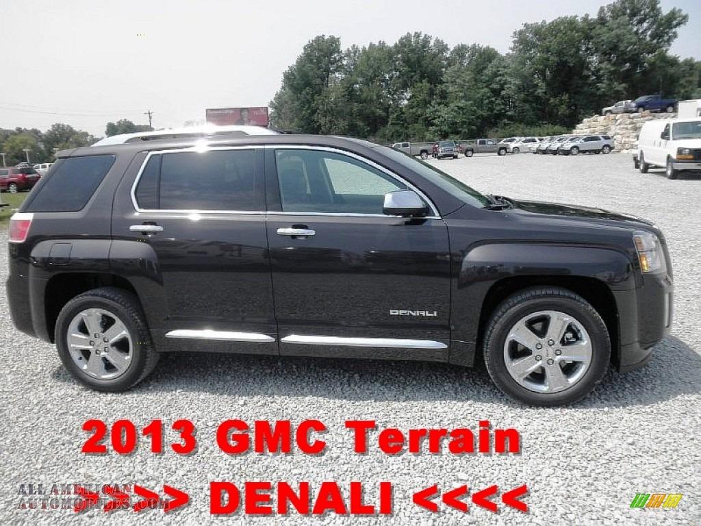 2013 gmc terrain denali in carbon black metallic 115343 all american automobiles buy. Black Bedroom Furniture Sets. Home Design Ideas